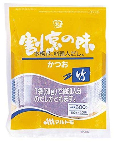 マルトモ 割烹の味 竹 50g 10袋入り
