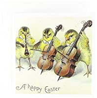 キャッシー・ピーターヴィンテージ–Easter Chicks–グリーティングカード Set of 6 Greeting Cards