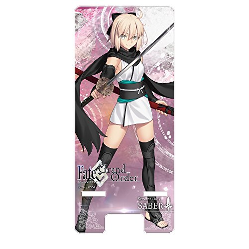 HAKUBA スマホスタンド Fate/Grand Order 沖田総司 マルチクリアスタンド キャラモード PA-STD6420