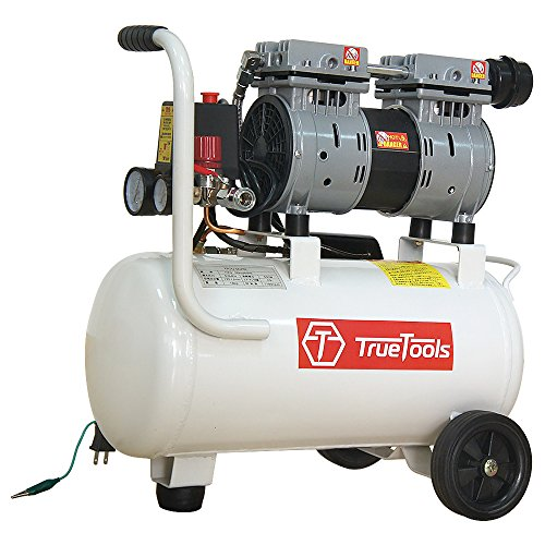 TrueTools 静音 オイルレス エアコンプレッサー 20L TRTO-SC20L B078822Y1L 1枚目