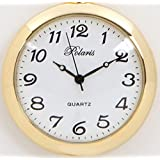 みやすい らくらく懐中時計 ゴールド枠 アラビア数字