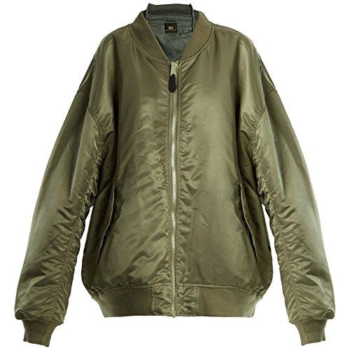 (ヴェトモン) Vetements レディース アウター ブルゾン Reversible bomber jacket [並行輸入品]