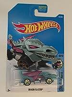 Hot Wheels 2017 Street Beasts Dragon Blaster (Dragon Car) 164/365 Pale Green [並行輸入品]