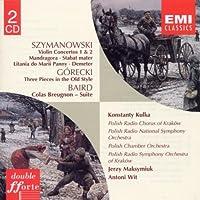 Szymanowski: Violin Concertos