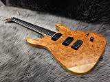 Caparison Dellinger II FX-BKM CL-ML50 Burl Padauk/Maple Natural Matt #043 【MUSICLAND KEY50周年記念モデル】 (¥ 298,000)