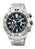 [シチズン] 腕時計 プロマスター エコ・ドライブ電波時計 MARINEシリーズ ダイバー200M 2019年度グッドデザイン賞受賞 AS7141-60E メンズ シルバー