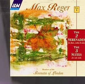 Reger;V1 2 Serenades