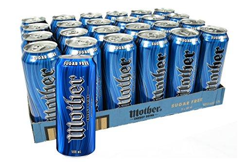 Mother Sugar Free Energy Drink 24 x 500 mL