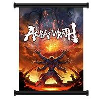 "Asura 's Wrathビデオゲームファブリック壁スクロールポスター( 16"" x 21"" )インチ"