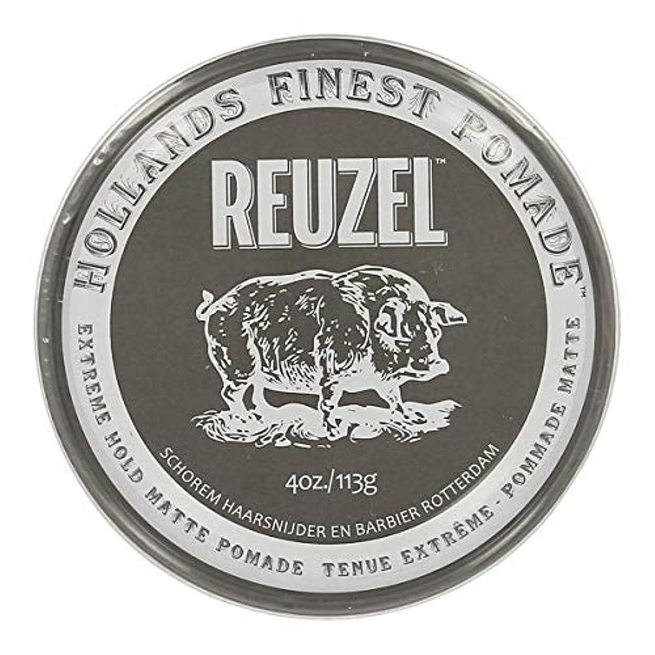 説明的プロポーショナル有害なルーゾー Reuzel Extreme Hold Matte Pomade 113 g [並行輸入品]