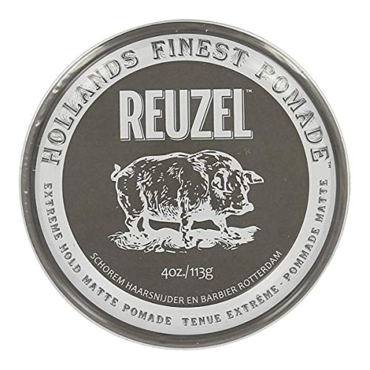 知り合いフィールド指定するルーゾー Reuzel Extreme Hold Matte Pomade 113 g [並行輸入品]