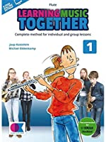 Learning Music Together: Vol. 1- Flute (Book/Online Audio). For フルート