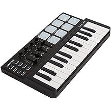 High Quality Worlde Panda Mini 25-Key USB Keyboard and Drum Pad MIDI Controller Portable