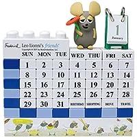 レオレオニフレンズ フレデリック ブロックカレンダー