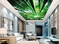 Wapel 3 次元の壁紙テレビ、背景、壁紙、リビングルームのソファーの背景に描かれている天井は家の装飾 絹の布 400x280CM