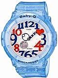 [カシオ] 腕時計 ベビージー Jellly Marine Series ネオンイルミネーター BGA-131-2BJF ブルー