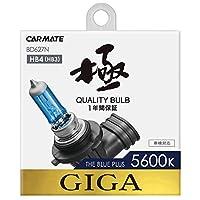 カーメイト 車用 ハロゲン ヘッドライト GIGA ザ・ブループラス HB4/3 5600K 700lm BD627N