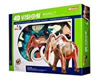 Tedco 4D Vision Woolly Mammoth Anatomy Model 【You&Me】 [並行輸入品]