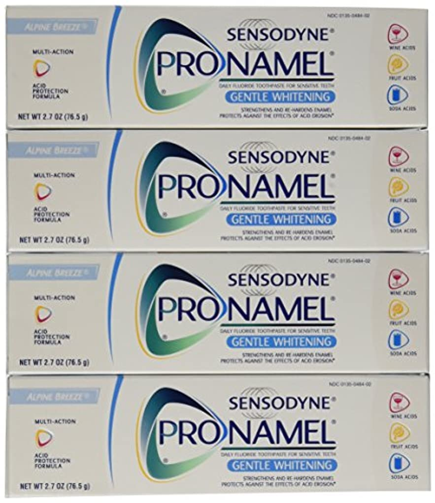 すごい首相失礼なSensodyne Pronamel Gentle Whitening Toothpaste, Alpine Breeze, 2.7 Oz by Sensodyne