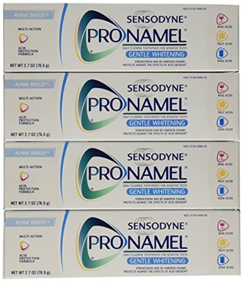 エミュレートする適応縞模様のSensodyne Pronamel Gentle Whitening Toothpaste, Alpine Breeze, 2.7 Oz by Sensodyne
