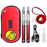 電子タバコ vape CE4アトマイザー 1100mAH禁煙セット ハイクオリティ リキッド無し ニコチン無し WOLFTEETH 日本語取扱説明書付 レッド/red