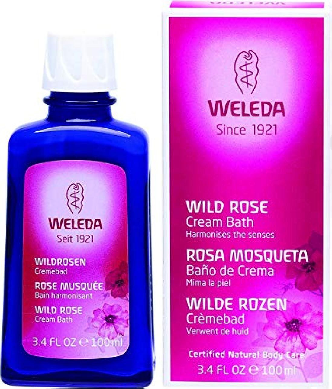 包囲消費者木材WELEDA(ヴェレダ) ワイルドローズ クリームバスミルク 100ml