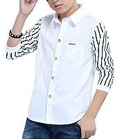 Snoneキッズ 子供服 シャツ スクール Yシャツ ボーイズ 子供 男の子 学生 ワイシャツ