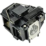 V13H010L67 / ELPLP67 - Lamp With Housing For Epson EX7210 EX5210 EX3210 VS210 VS315W VS310 Home Cinema 710HD Powerlite X12, X15, S11, 1261W Projectors