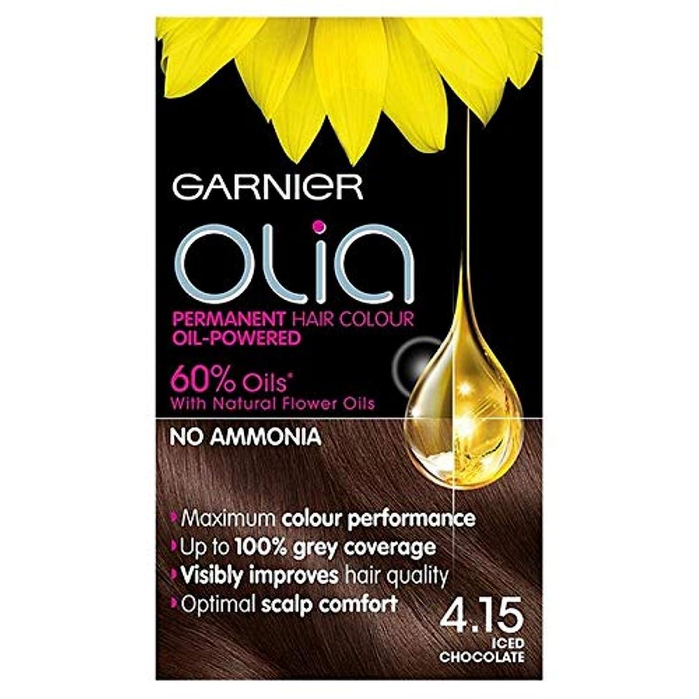 流星衣類すぐに[Garnier ] ガルニエOlia 4.15アイスチョコレートブラウンパーマネントヘアダイ - Garnier Olia 4.15 Iced Chocolate Brown Permanent Hair Dye [並行輸入品]