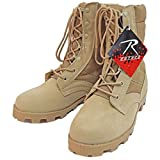 ロスコ ROTHCO 正規品 メンズ ブーツ G.I. Type Desert Tan Speedlace Jungle Boots 5057 US8.0(26.0cm) 並行輸入品 (コード:4108439805-13)