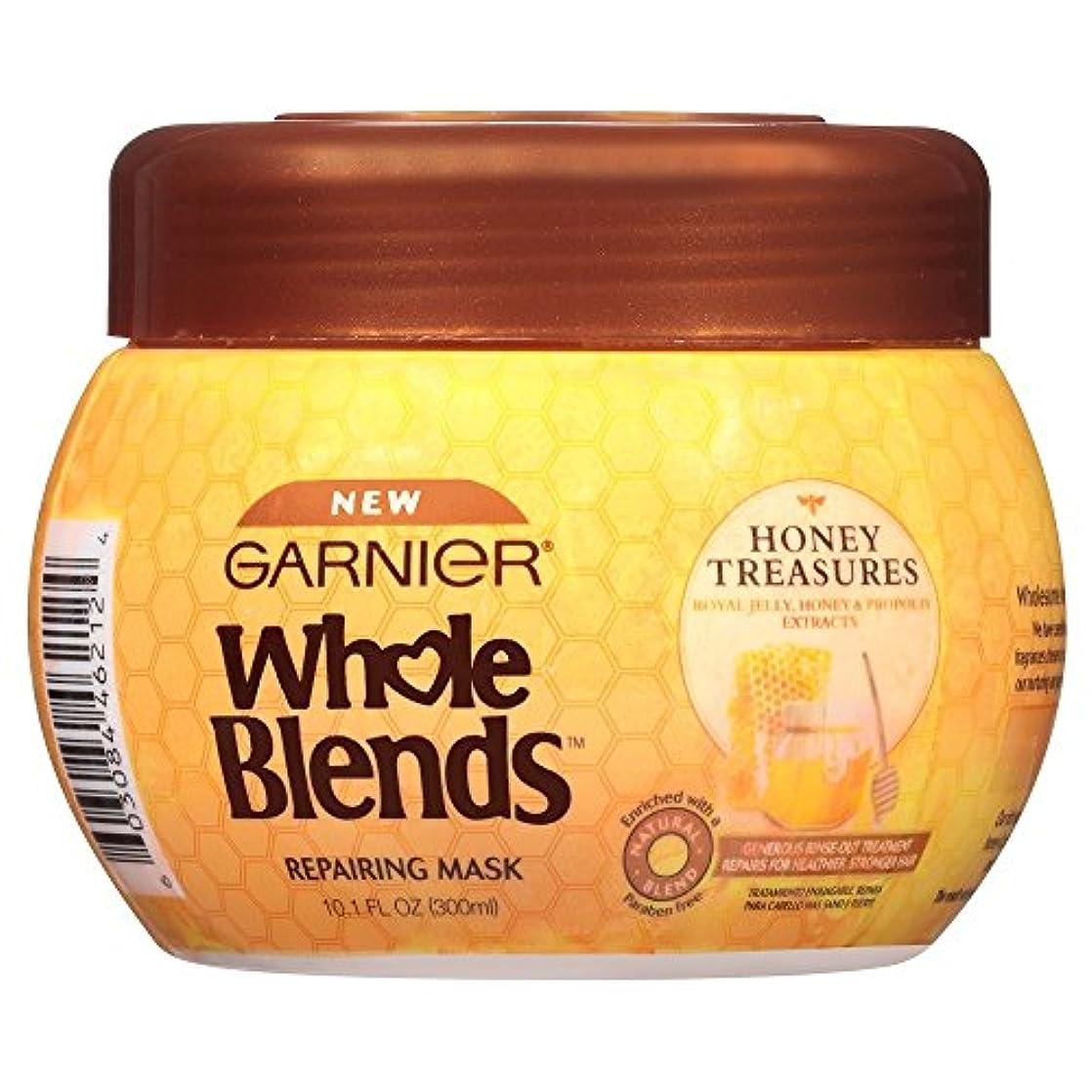 Garnier 全体ブレンドマスクハニー宝物の修復、10.1液量オンス 10.1液量オンス ハニーの宝物 マスク