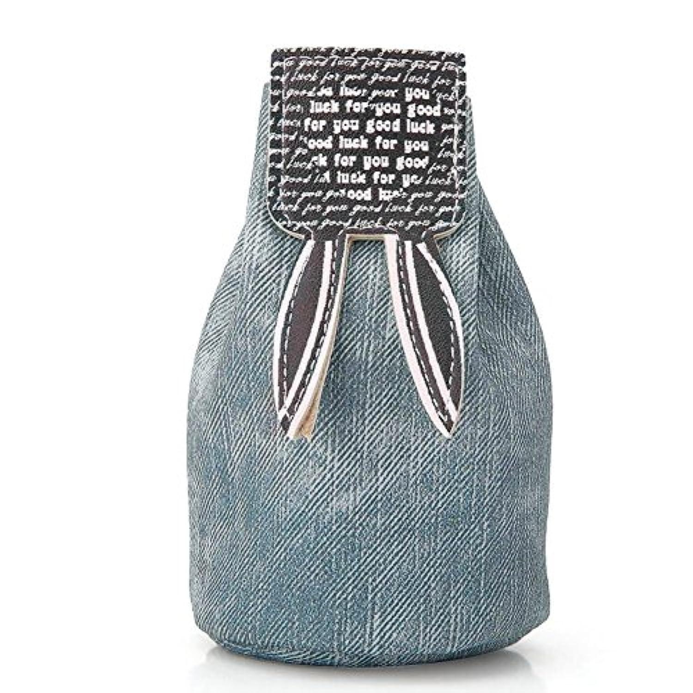 Glorwefy コインケース 兔巾着袋 バック 収納整理 PUレザー 可愛い 丈夫 軽量 小物入れ 便利 収納袋 旅行 入園準備 きちんと 雑貨 レディース 全四色展開