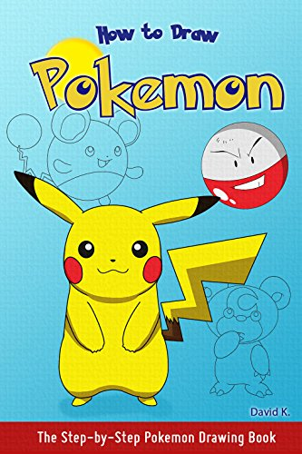 amazon how to draw pokemon the step by step pokemon drawing book