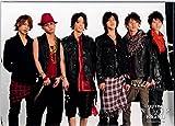 KAT-TUN   【公式写真】・・  集合 ✩ ジャニーズ公式 生写真【スリーブ付 g09 -