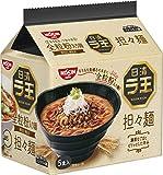 日清 ラ王 担々麺 5食パック 475g×6袋