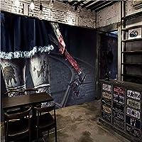 Weaeo 写真の壁紙3Dホラー壁画Hdホラーホークのテーマのテーマの壁紙カラオケ壁の壁の壁画-400X280Cm