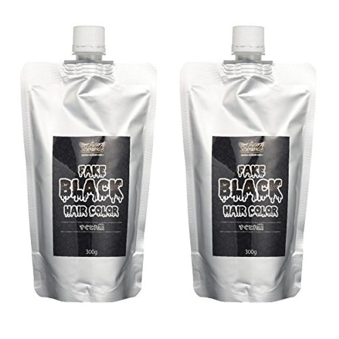 腹痛葉巻消費者【2本セット】エンシェールズ カラートリートメントバター 300g すぐとれ黒 フェイクブラック
