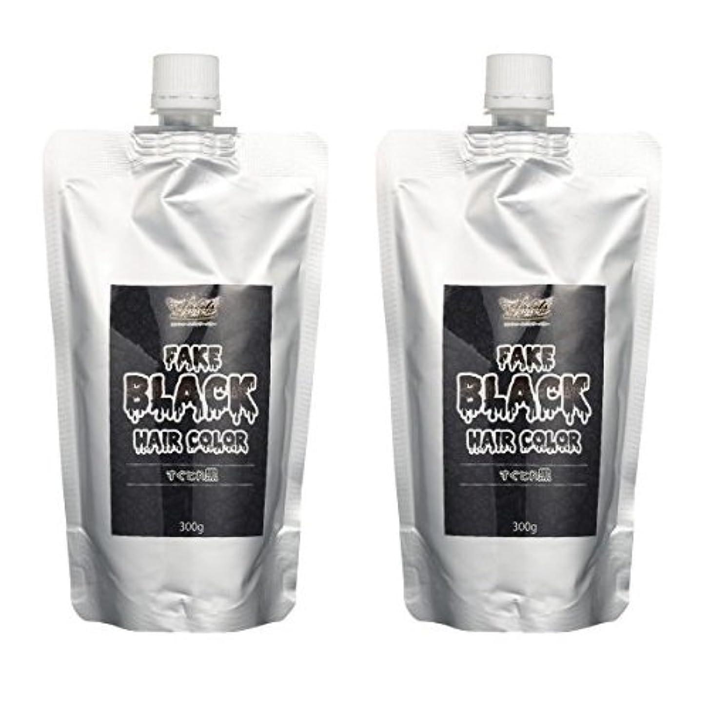 床を掃除するマート曖昧な【2本セット】エンシェールズ カラートリートメントバター 300g すぐとれ黒 フェイクブラック