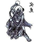 (ファンタジー) TheFantasy タトゥーシール 羅漢 迦諾迦伐蹉尊者 wqa24 【大型・A4】