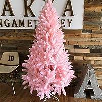 クリスマスツリー 1.8 / 1.5 / 2.1メートルピンクのクリスマスツリーホームクリスマスの飾りショッピングモールのシーンのレイアウト クリスマスツリースカート christmas tree HUXIUPING (Size : 2.1m)