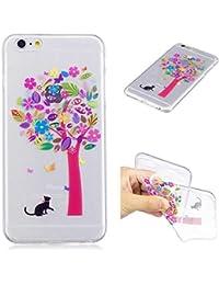 Zeebox iPhone 6 Plus/iPhone 6s Plus クリア ケース カバー TPU スムースタッチ カバー Apple iPhone 6 Plus/iPhone 6s Plus 超薄型 かわいい柄 落下防止...