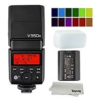 Godox V350O 2.4Gワイヤレスミニライトフラッシュ TTLスピード カラーフィルタ付き リチウムイオン電池駆動 オリンパス/パナソニッ デジタルカメラに適用