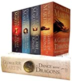 Song of Ice and Fire Set: A Game of Thrones, a Clash of Kings, a Storm of Swords, a Feast for Crows, a Dance with Dragons (A Song of Ice and Fire) 画像