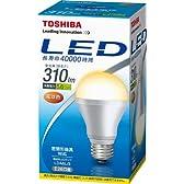 東芝 E-CORE(イー・コア) LED電球 一般電球形 5.6W(密閉器具対応・フィンレス構造・E26口金・白熱電球20W相当・310ルーメン・電球色) LDA6L/3