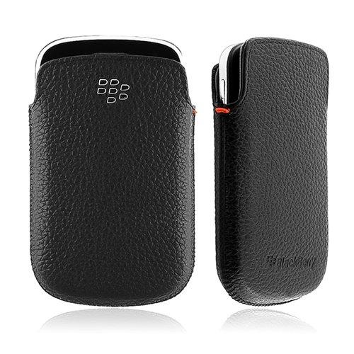 Research In Motion Blackberry 9900&9930 Bold用レザー・ポケットケース/ブラック 【並行輸入品】