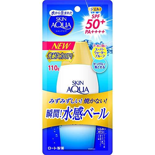 スキンアクア スキンアクア スーパーモイスチャージェル SPF50+ PA++++ 110gの画像