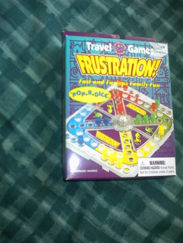 Frustration 。pop-a Dice旅行ゲーム
