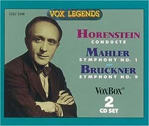 Mahler Sym. No. 1, Bruckner Sym. No. 9 (Original version)
