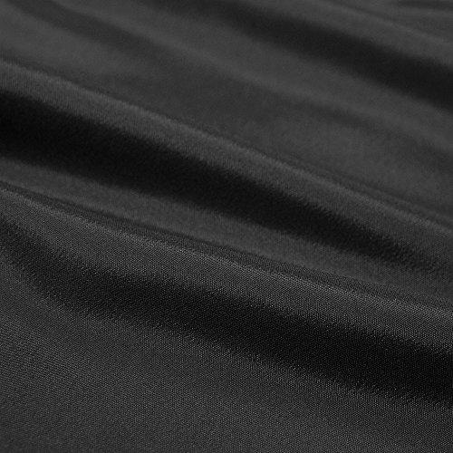 cb29dfd0cd7004 キョウエツ] 羽織 洗える 袷 無地 紬生地 単品 メンズ (L, 黒)|SAMURAI ...