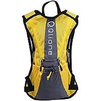 Qlione ランニング サイクリング リュック バック 軽量 コンパクト ハイドレーション 対応 5L 全4カラー
